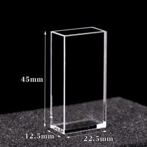 10 x 20 mm Fluorometer Cuvette Size