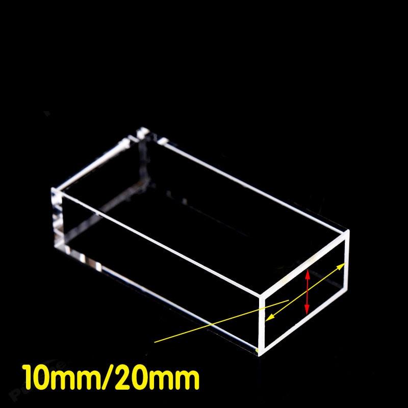 10 x 20 mm Long Path Length Fluorescence Cuvette