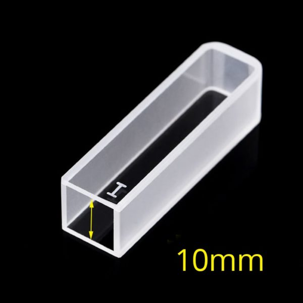 10 mm Standard Path Length CUvette, 2 Clear Windows