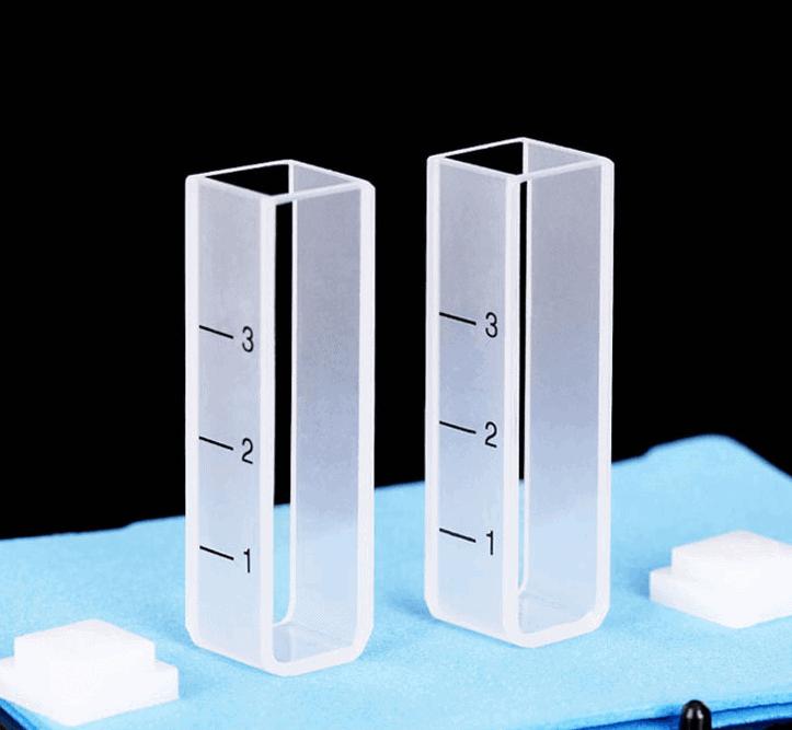 10mm PTFE Lid UV vis Cuvette
