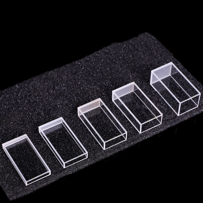 2.1 3.5 5.6 7 10.5 mL Fluorometer Cuvette