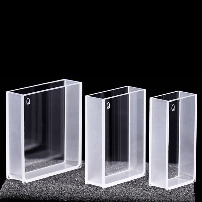 20 / 30 / 40 mm Wide Cuvette 2 Clear Windows