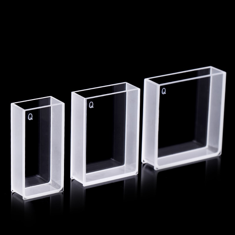 20 / 30 / 40 mm Wide Wall Clear UV Cuvette