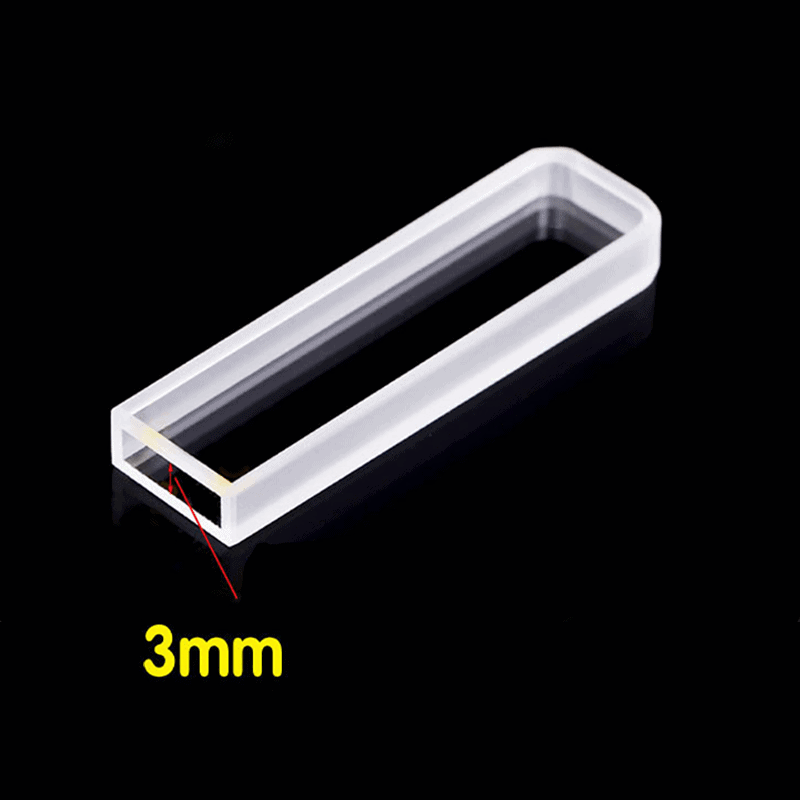 3mm Path Length Cuvette for Spectrometers