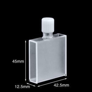 40mm Screw Spectrophotometer Cuvette Size