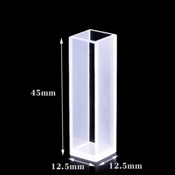 Cuvette Spectrometer Sizes 2 Clear Walls