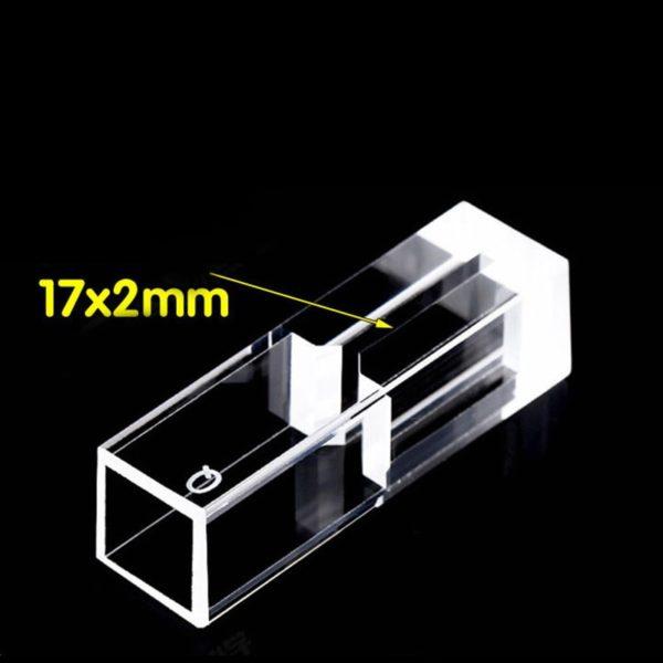 Fluorometer Sub-micro Cuvette 17x2mm