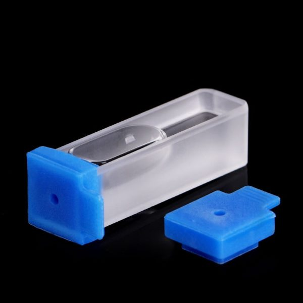 Lid for 10 x 10 mm Cuvette Injectable by Needle