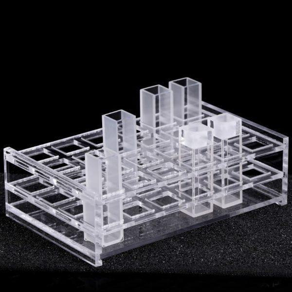 Rack for 10 mm Cuvette Cell 24 Positions