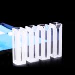 Semi Fluorescence Quartz Cuvette