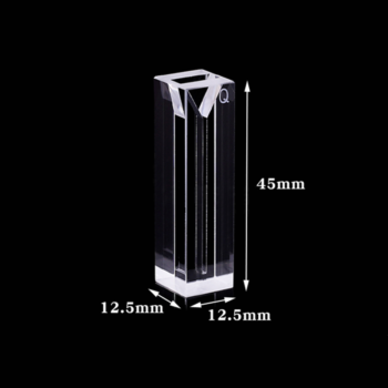 Standard 10mm Path Length Small Volume Cuvette Size
