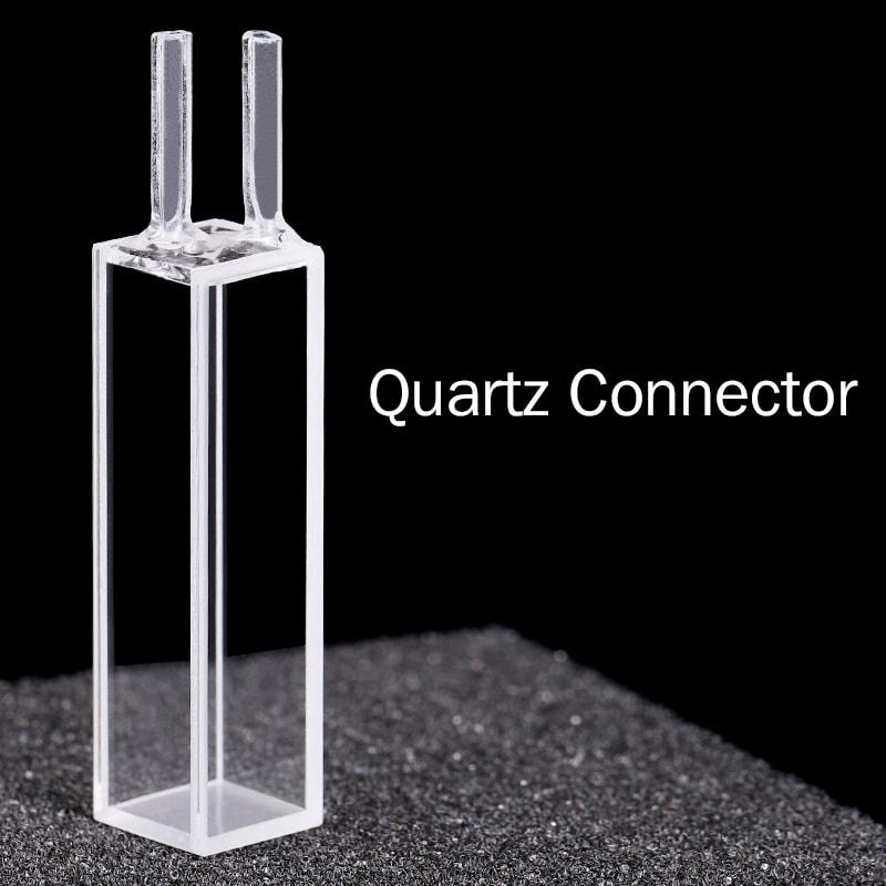Quartz Connector 4 Clear Windows 10 mm Flow Cell