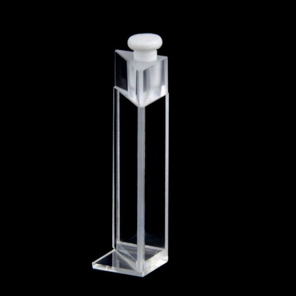 Triangle Cuvette with PTFE Stopper Air Tight