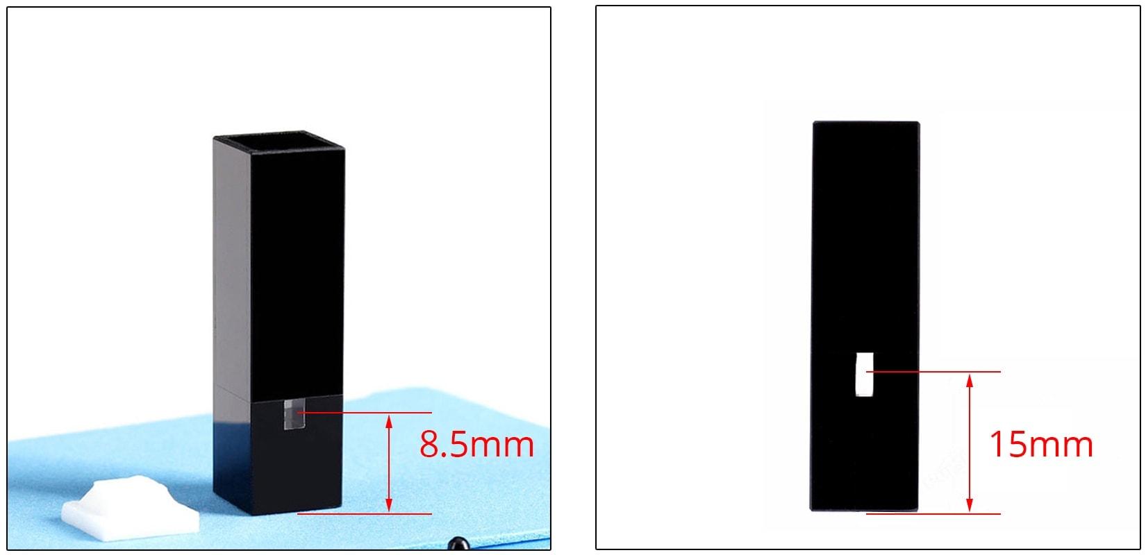 Micro Volume Cuvette Z dimension