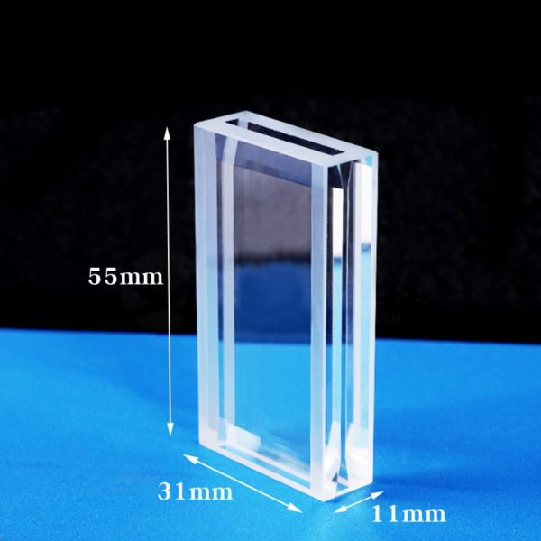 1/25mm Double Path Length 1.4mL 4 Windows Flow Cell Size