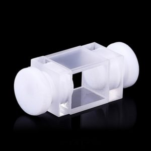 1.3mL Flow Cell with Stopper 2 Windows Customized Cuvette