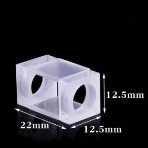 1.3mL Flow Cell with Stopper 2 Windows Cuvette Size