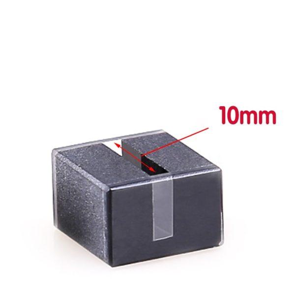 10mm Path Length 100uL 2 Window Black Wall Cuvette