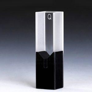 100uL Semi Black Wall Sub Micro Cuvette Volume