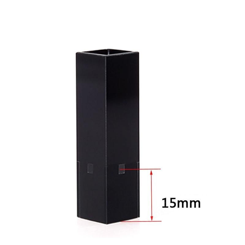 15mm Z dimension Sub Micro All Black Cuvette