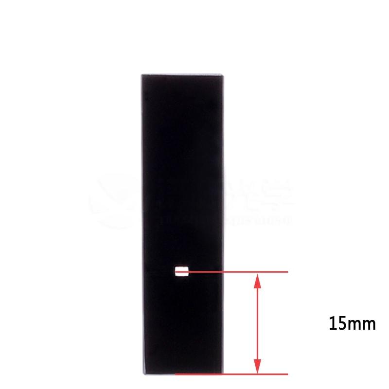 20uL Ultra Volume 3 Window Fluorescence Cuvette 15mm Light Height