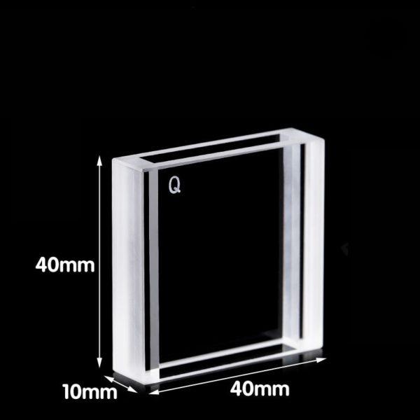 3/5mm Path Length 3.5/6.2mL 2 Windows Flow Cell Dimensioin