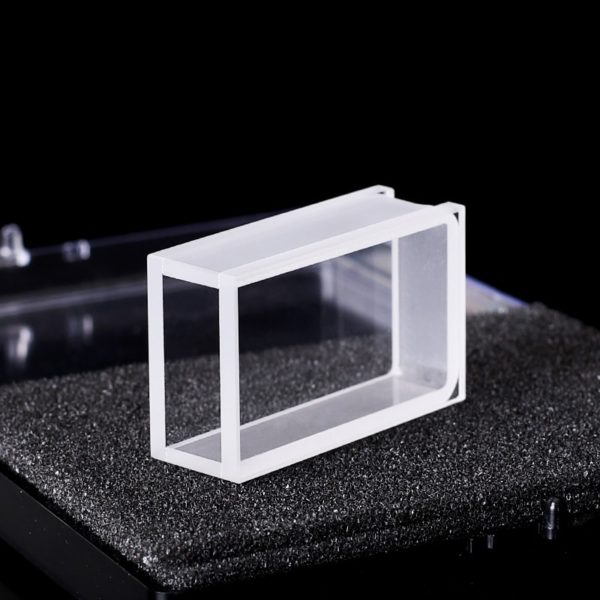 3mm Thick Wall 2 Clear Wide WIndow 10mm Path Cuvette