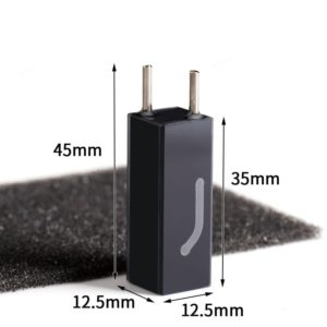32uL Micro Connector Flow Cell Size
