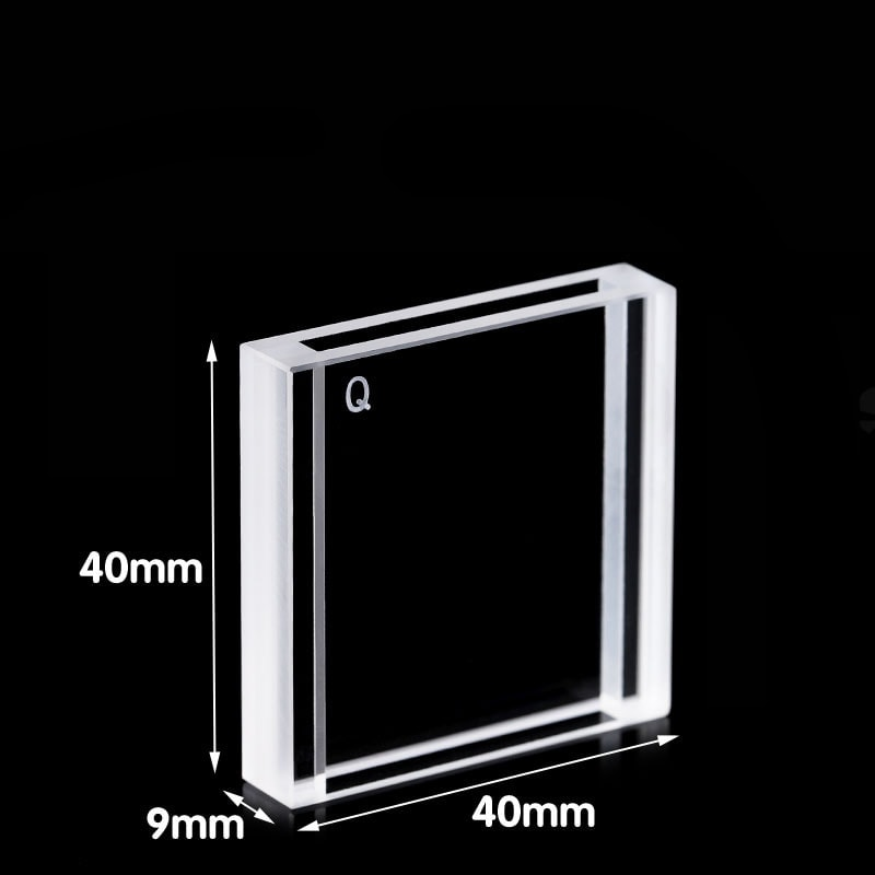 3mm Path length 3.5mL 2 Window Flow Cell Dimension