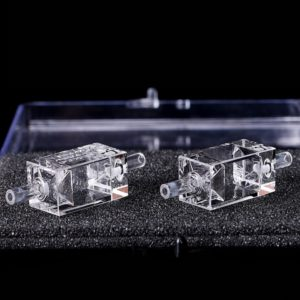 4 Clear Window Single Channel Bubble Free Flow Cell