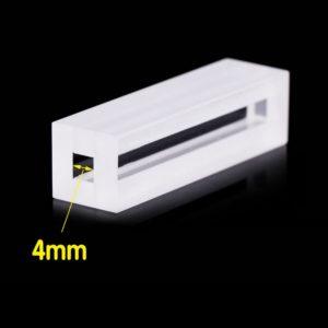 4mm Path Length 2 WIndows Spectrophotometer Cuvette