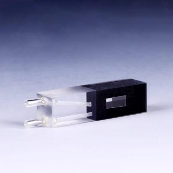 400uL Micro Black Flow Through Cell