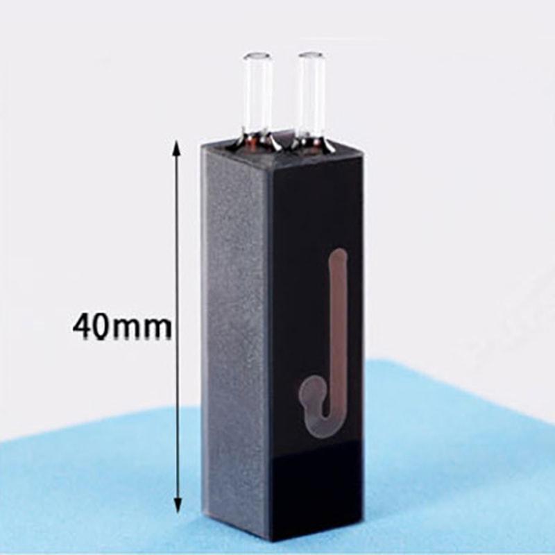 40mm Hieght 48uL Quartz Spectrophotometer Flow Cell