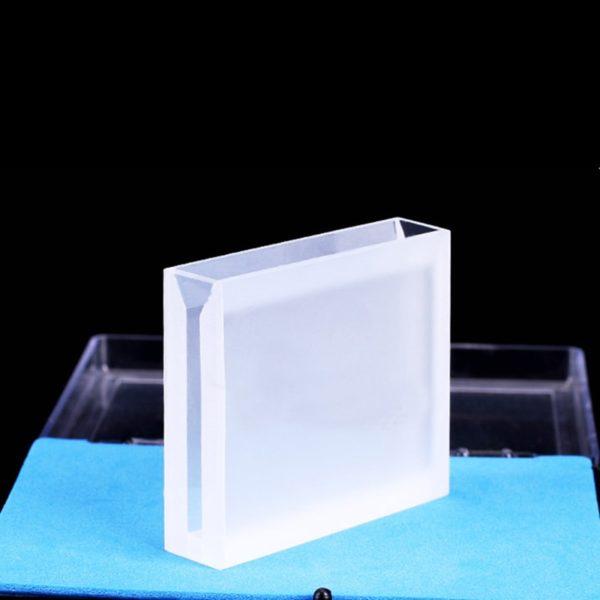 50mm Path Length Semi Micro 2 Window UV vis Cuvette