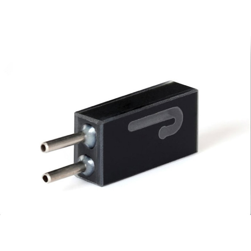 5mm Path Length Black 16uL Steel Connector Flow Cell