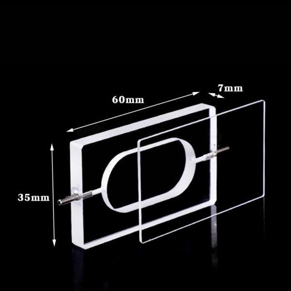 5mm Path Micro Volume Flow Through Cuvette Size