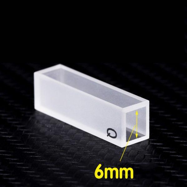 6mm Path Length Special Cuvette Quartz Material