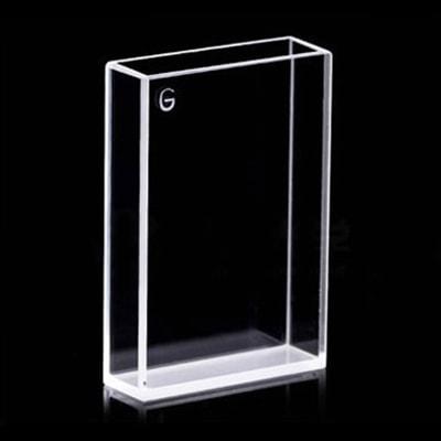8x28 Dual Path 4 Clear Window Glass Cuvette