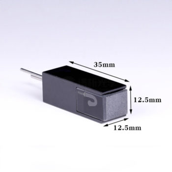 Black 32uL Steel Connector Flow Cell Size