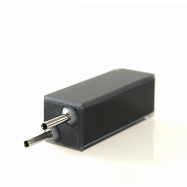 Black Masked Wall 32uL Steel Connector Flow Cell