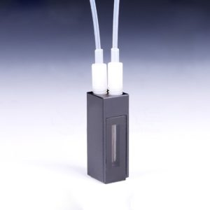 Black Wall Flow Cell 60-600uL 1-10mm Path Length