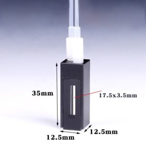 Black Wall Flow Cell Size