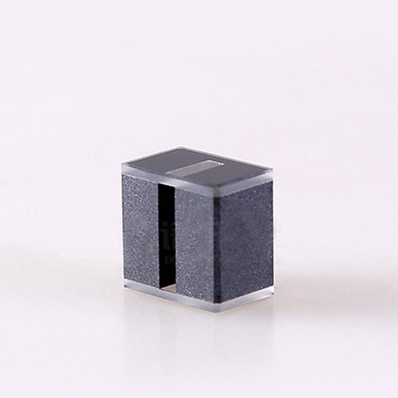 Customized 10mm Path 100uL 2 Window Black wall Cuvette