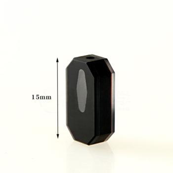Custom 5mm Black Rhombus Flow Cell Size