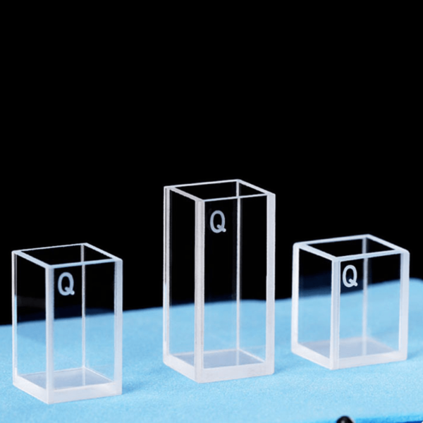 Custom Height 4 Clear Window Cuvette Cell