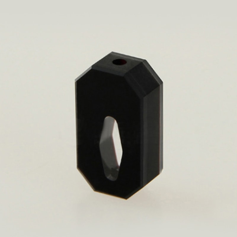 Customized 5mm Black Rhombus Flow Cell