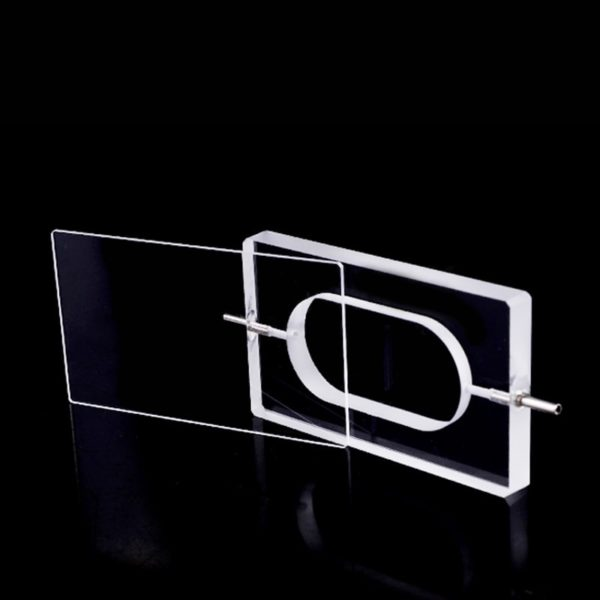 Demountable 5mm Path Ultra Micro Volume Flow Through Cuvette