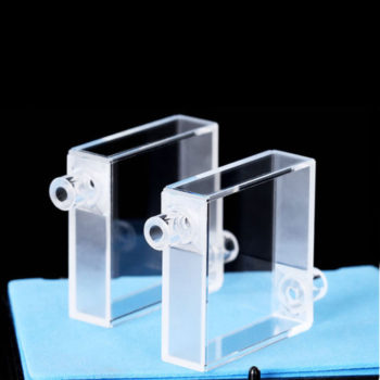 Dual Path Length Flow Cell Single Channel 4 Windows