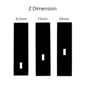 Small Window Cuvette with Z Dimension 8.5 15 20mm