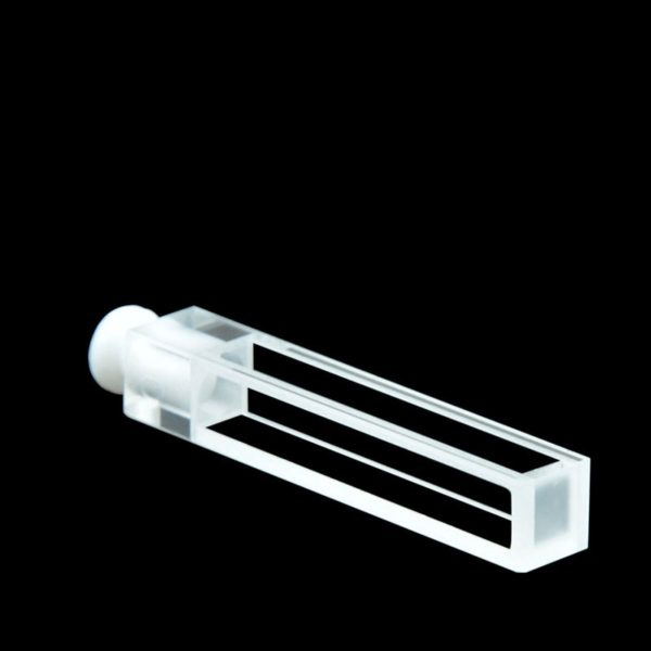 Stopper 5mm Path Length Fluorescence Cuvette